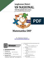 Rangkuman UN Matematika SMP