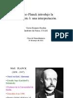 Hipotesis de Planck Para Expocision (4!3!16).