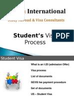 Revata International Student Visa Process