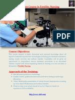 Certificate Course in Fertility Nursing