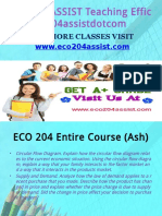ECO 204 ASSIST Teaching Effectively eco204assistdotcom