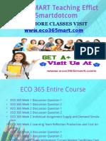 ECO 365 MART Teaching Effectively eco365martdotcom