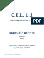 Manuale CEL