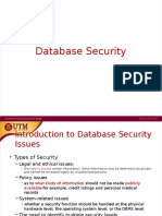 8 - Database Security