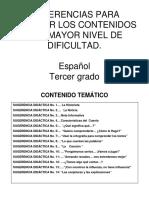 Sugerencias Didacticas Español 3erprimaria