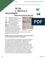 [MC] El Canto de Las Neuronas. Música y Neurología