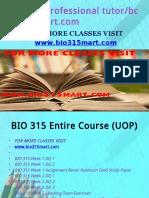 BIO 315 Professional Tutor Bcom230mart.com