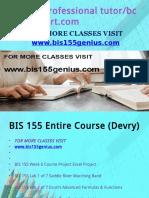 BIS 155 Professional Tutor Bcom230mart.com