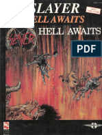 SLAYER Hell Awwaits Guitartab