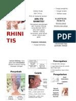 Rhinitis Leaflet