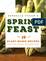 Benbella Vegan's Spring Feast