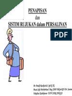 Penapisan Dan Sistem Rujukan Dr.poedji Sp.og