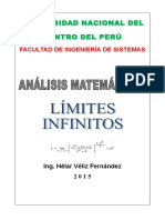 Folleto Nº 07 Límites Infinitos 2015 UNCP