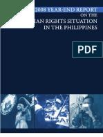 2008 Karapatan HR Report (Updated)