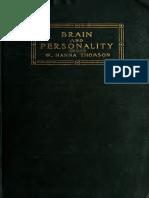 Brain Personality 1906 Thom