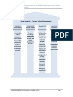 Process Safety Management Outline