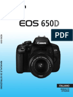 EOS 650D Camera User Guide IT