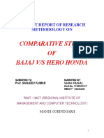 Project Report of Research Methodology On