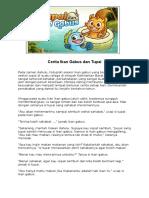 Cerita Ikan Gabus Dan Tupai