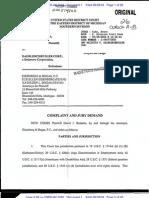Bazzetta v. Daimler AG - Complaint