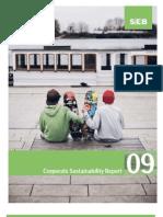 SEB's Sustainability Report 2009