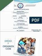 UNIDAD II ORGANIZACION