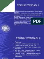 Teknik Fondasi II Edit