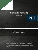 Elevated Parking Design