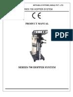 Manual m 700 Hopper