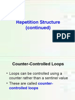 Repetition Cont