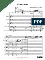 Elgar Cello Concerto 1st Mvt 140116 - Score and Parts