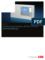 1MRK504139-UEN - En Technical Manual Transformer Protection RET670 2.0 IEC