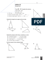 geometry chapter 4 worksheets