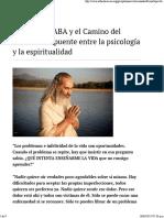 Un Puente Entre La Psicología y La Espiritualidad