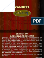 Zambeel (Boutique) - Marketing-Plan
