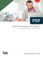 BSI ISO 9001 Management System White Paper UK En