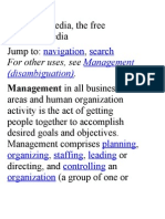 Management oo7