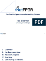 NetFPGA. the Flexible Open-Source Networking Platform