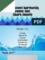 Komponen Harmonik Pasut Dan Chart Datum