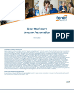 Tenet Investor Presentation March 9