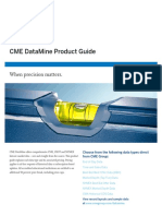 CME DataMine Product Guide and Price