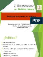 Politicas Sanitarias