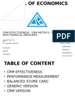 Crm Effectiveness