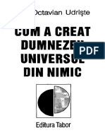Cum A Creat Dumnezeu Universul Din Nimic - Octavian Udriste
