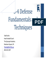 34 Defense Fundamentals and Techniques