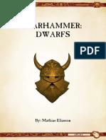 Ravening Hordes - Dwarfs 8th Ed