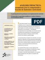 Caja de Herramientas 2. Analisis Didactico