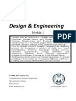 Design and Engineering KTU Module-1