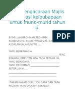 Teks Pengacaraan Majlis Motivasi Keibubapaan Untuk Murid