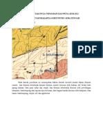 Interpretasi Peta Topografi Dan Peta Geologi